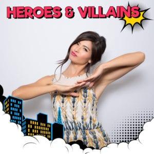Heroes-Villians - Vancity Photo Booth