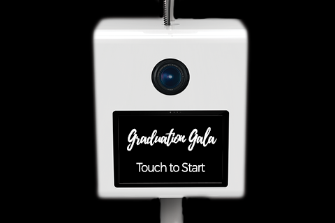 Graduation Photo Booth - Start-up Screens