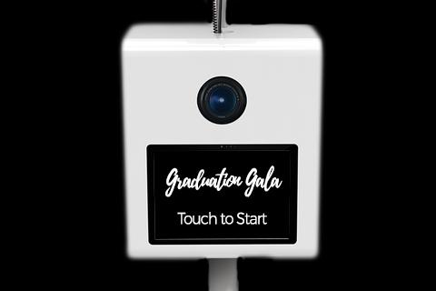 Graduation Photo Booth - Start-up Screens