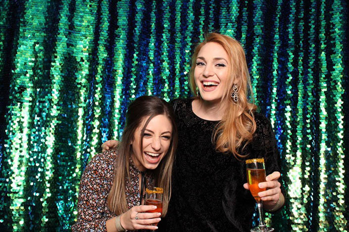 Photo Booth Backdrops - The Peacock