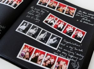 In the Booth Guest Book - Vancouver Best Alternative Entertainment for Wedding Reception