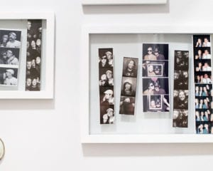 Photo Strip Wall - Vancouver Best Alternative Entertainment for Wedding Reception