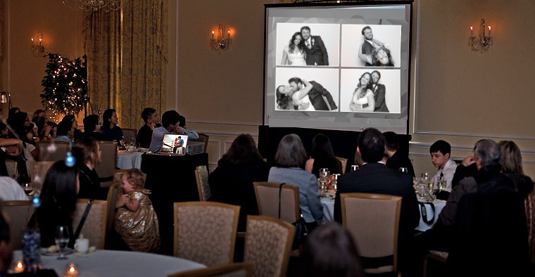 Wedding Reception Projector - Vancouver Best Alternative Entertainment for Wedding Reception