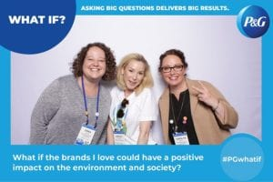 brand activation for P&G